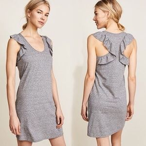 Current/Elliott Cadence ruffle racer back dress 0